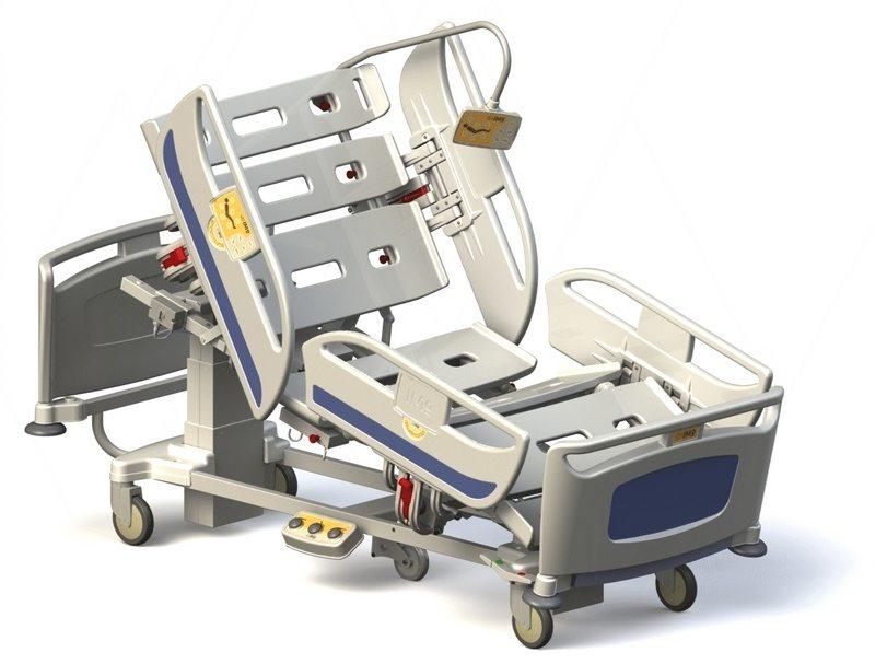 łóżko Szpitalne Elektryczne Matrix T60
