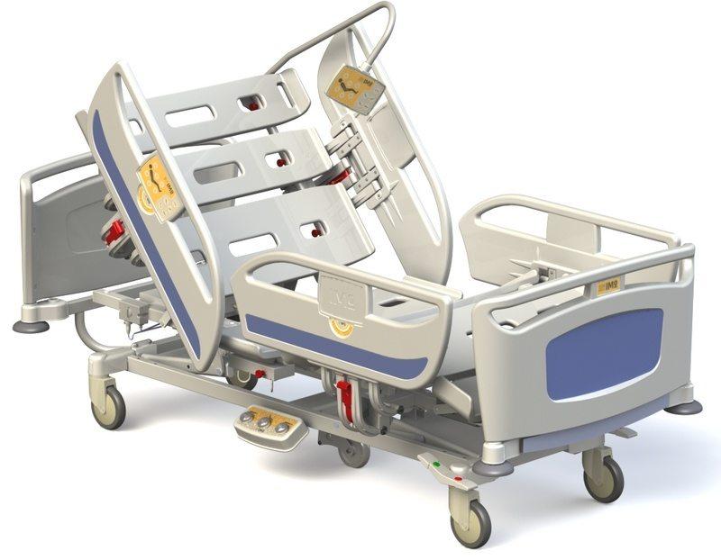 łóżko Szpitalne Elektryczne Matrix T40